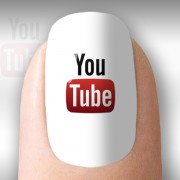 You Tube com fundo transparente